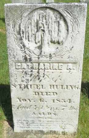 HULING, CATHARINE A. - Champaign County, Ohio | CATHARINE A. HULING - Ohio Gravestone Photos