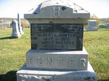 HUNTER, ALBERT L. - Champaign County, Ohio | ALBERT L. HUNTER - Ohio Gravestone Photos