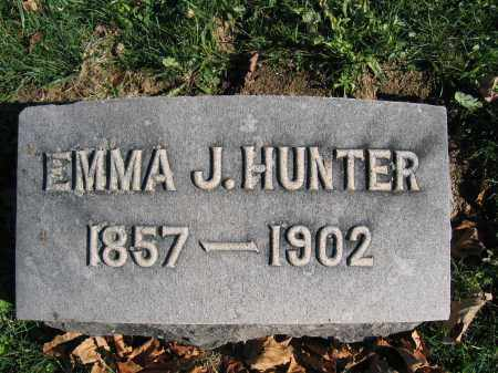 HUNTER, EMMA J. - Champaign County, Ohio | EMMA J. HUNTER - Ohio Gravestone Photos