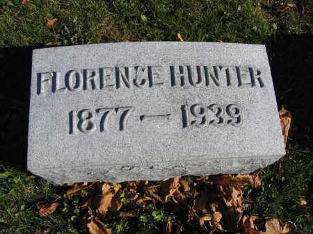 HUNTER, FLORENCE - Champaign County, Ohio | FLORENCE HUNTER - Ohio Gravestone Photos