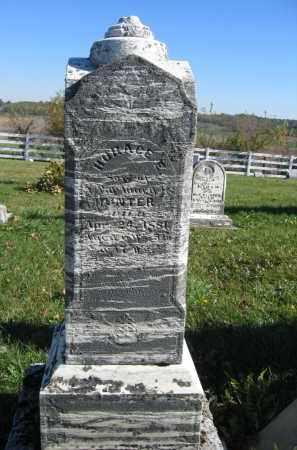 HUNTER, HORACE E. - Champaign County, Ohio   HORACE E. HUNTER - Ohio Gravestone Photos