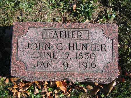 HUNTER, JOHN G. - Champaign County, Ohio | JOHN G. HUNTER - Ohio Gravestone Photos