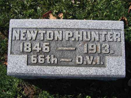 HUNTER, NEWTON P. - Champaign County, Ohio | NEWTON P. HUNTER - Ohio Gravestone Photos