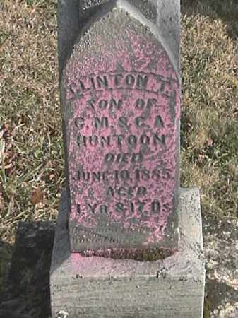 HUNTOON, CLINTON T. - Champaign County, Ohio | CLINTON T. HUNTOON - Ohio Gravestone Photos