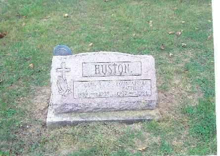 HUSTON, CARL - Champaign County, Ohio | CARL HUSTON - Ohio Gravestone Photos