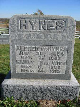 HYNES, ALFRED - Champaign County, Ohio | ALFRED HYNES - Ohio Gravestone Photos