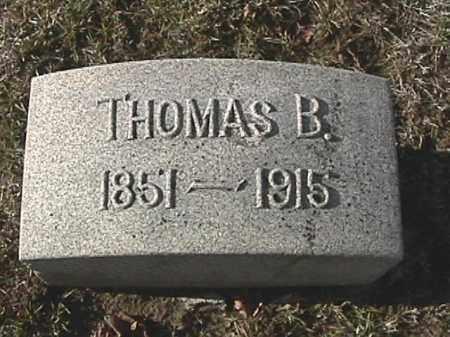 IDLE, THOMAS BENTON - Champaign County, Ohio | THOMAS BENTON IDLE - Ohio Gravestone Photos