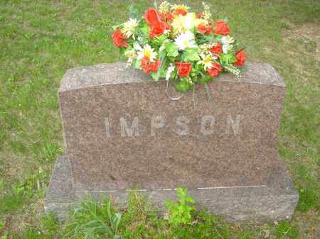 EMERY JUNIOR IMPSON, CARL - Champaign County, Ohio | CARL EMERY JUNIOR IMPSON - Ohio Gravestone Photos