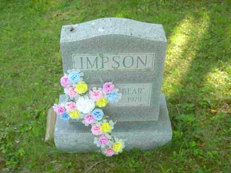"WILLIAM ""BEAR"" IMPSON, HAROLD - Champaign County, Ohio 