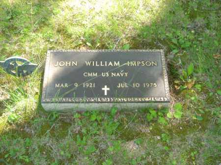 IMPSON, JOHN WILLIAM - Champaign County, Ohio | JOHN WILLIAM IMPSON - Ohio Gravestone Photos