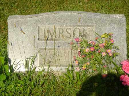 IMPSON, VIOLET MAE - Champaign County, Ohio | VIOLET MAE IMPSON - Ohio Gravestone Photos