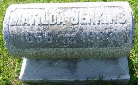 JENKINS, MATILDA - Champaign County, Ohio | MATILDA JENKINS - Ohio Gravestone Photos