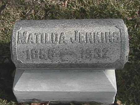 CAMPBELL JENKINS, MATILDA - Champaign County, Ohio | MATILDA CAMPBELL JENKINS - Ohio Gravestone Photos