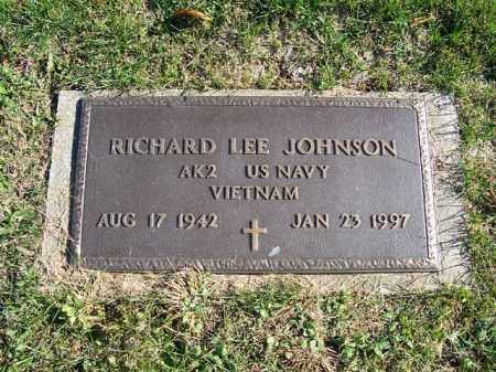 JOHNSON, RICHARD LEE - Champaign County, Ohio | RICHARD LEE JOHNSON - Ohio Gravestone Photos