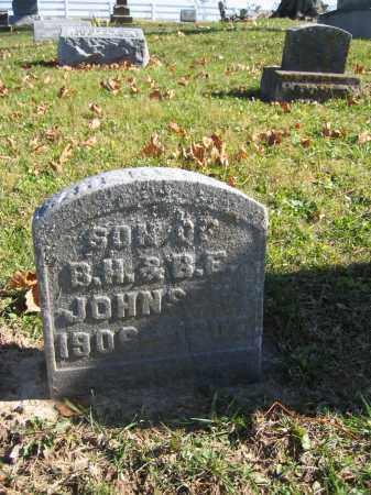 JOHNSON, W. HERBERT - Champaign County, Ohio | W. HERBERT JOHNSON - Ohio Gravestone Photos