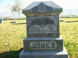 JONES, MARY E - Champaign County, Ohio | MARY E JONES - Ohio Gravestone Photos