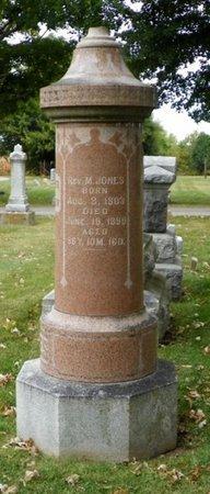 JONES, M. - Champaign County, Ohio | M. JONES - Ohio Gravestone Photos