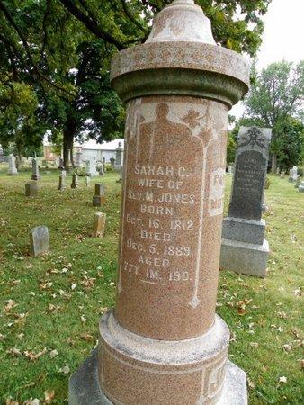 JONES, SARAH C. - Champaign County, Ohio | SARAH C. JONES - Ohio Gravestone Photos