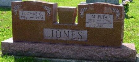 ADKINS JONES-GILBERT, MISSOURI ELTA - Champaign County, Ohio   MISSOURI ELTA ADKINS JONES-GILBERT - Ohio Gravestone Photos
