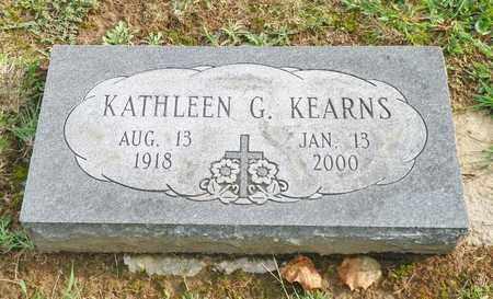 KEARNS, KATHLEEN G. - Champaign County, Ohio | KATHLEEN G. KEARNS - Ohio Gravestone Photos