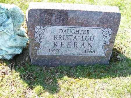 KERRAN, KRISTA LOU - Champaign County, Ohio | KRISTA LOU KERRAN - Ohio Gravestone Photos