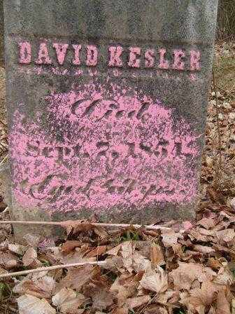 KESLER, DAVID - Champaign County, Ohio | DAVID KESLER - Ohio Gravestone Photos