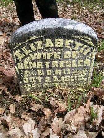 KESLER, ELIZABETH - Champaign County, Ohio | ELIZABETH KESLER - Ohio Gravestone Photos