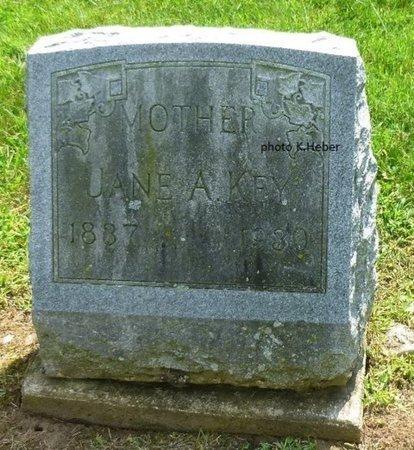 BASKIN KEY, JANE ANN - Champaign County, Ohio   JANE ANN BASKIN KEY - Ohio Gravestone Photos