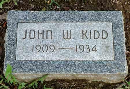 KIDD, JOHN W. - Champaign County, Ohio | JOHN W. KIDD - Ohio Gravestone Photos