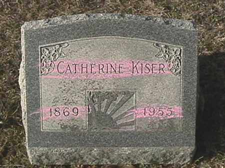 KISER, CATHERINE - Champaign County, Ohio | CATHERINE KISER - Ohio Gravestone Photos