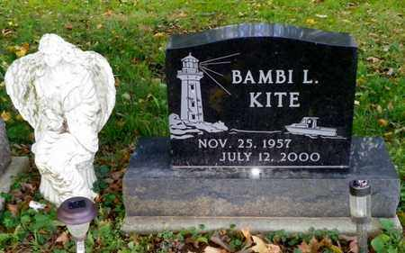 KITE, BAMBI L. - Champaign County, Ohio | BAMBI L. KITE - Ohio Gravestone Photos