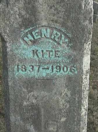 KITE, HENRY - Champaign County, Ohio | HENRY KITE - Ohio Gravestone Photos