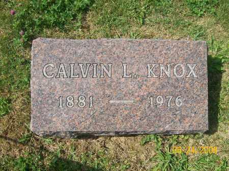 KNOX, CALVIN LEROY - Champaign County, Ohio | CALVIN LEROY KNOX - Ohio Gravestone Photos