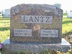 LANTZ, FRANCIS J. - Champaign County, Ohio | FRANCIS J. LANTZ - Ohio Gravestone Photos