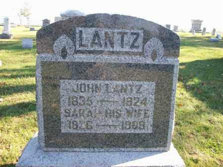 LANTZ, SARAH - Champaign County, Ohio | SARAH LANTZ - Ohio Gravestone Photos