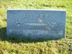 LANTZ, MARION - Champaign County, Ohio | MARION LANTZ - Ohio Gravestone Photos