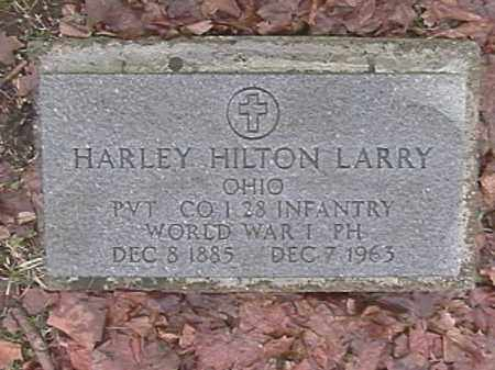 LARRY, HARLEY HILTON - Champaign County, Ohio | HARLEY HILTON LARRY - Ohio Gravestone Photos