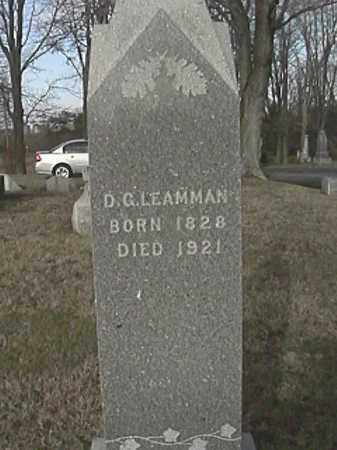 LEAMMAN, DANIEL GORDON - Champaign County, Ohio | DANIEL GORDON LEAMMAN - Ohio Gravestone Photos