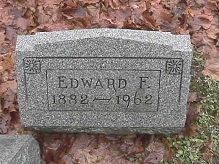 LEAMMAN, EDWARD FRANKLIN - Champaign County, Ohio | EDWARD FRANKLIN LEAMMAN - Ohio Gravestone Photos