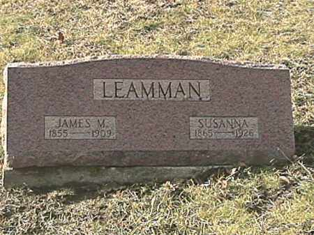 LEAMMAN, JAMES MONROE - Champaign County, Ohio | JAMES MONROE LEAMMAN - Ohio Gravestone Photos