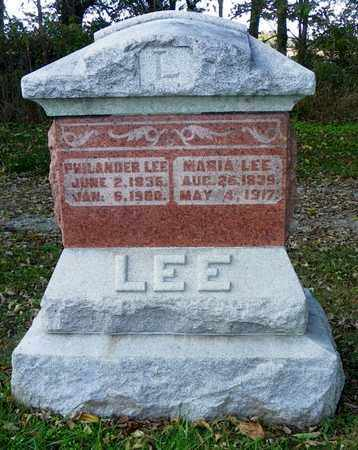 EVILSIZOR LEE, MARIA - Champaign County, Ohio | MARIA EVILSIZOR LEE - Ohio Gravestone Photos