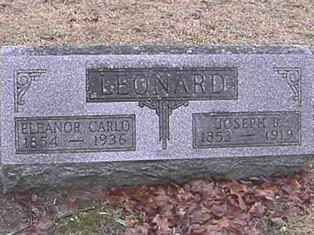 LEONARD, JOSEPH B. - Champaign County, Ohio | JOSEPH B. LEONARD - Ohio Gravestone Photos