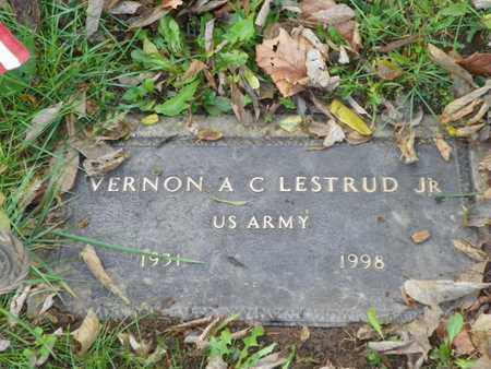 LESTRUND, VERNON A C - Champaign County, Ohio | VERNON A C LESTRUND - Ohio Gravestone Photos