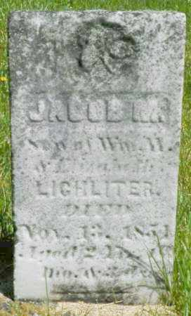 LICHLITER, JACOB M. - Champaign County, Ohio | JACOB M. LICHLITER - Ohio Gravestone Photos