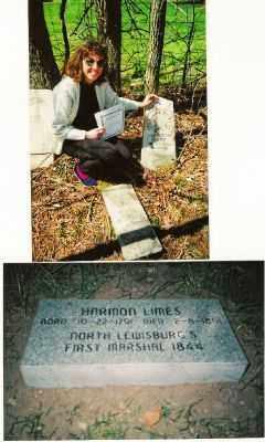 LIMES, HARMON - Champaign County, Ohio | HARMON LIMES - Ohio Gravestone Photos