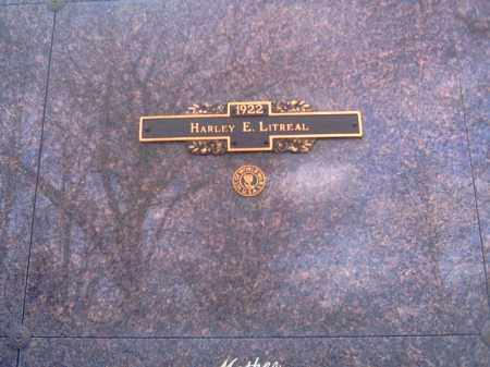LITREAL, HARLEY E. - Champaign County, Ohio | HARLEY E. LITREAL - Ohio Gravestone Photos