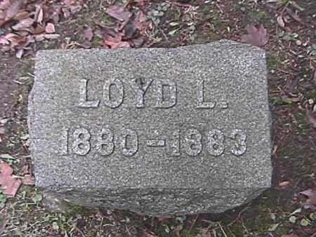 LOHNES, LOYD L. - Champaign County, Ohio | LOYD L. LOHNES - Ohio Gravestone Photos