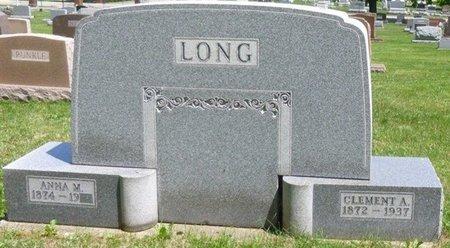 ABBOTT LONG, ANNA MAY - Champaign County, Ohio   ANNA MAY ABBOTT LONG - Ohio Gravestone Photos