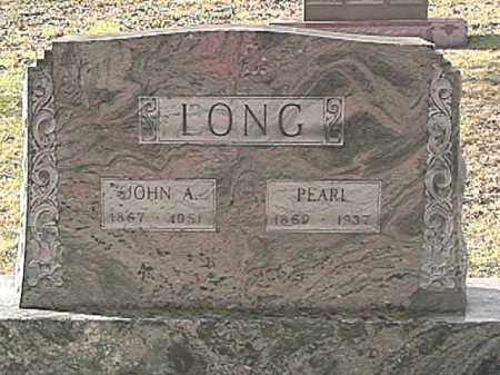 LONG, JOHN ALVIN - Champaign County, Ohio | JOHN ALVIN LONG - Ohio Gravestone Photos