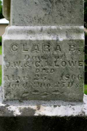 LOWE, CLARA B. - Champaign County, Ohio | CLARA B. LOWE - Ohio Gravestone Photos